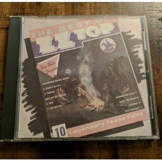 cd-the best of zz top-10 legendary texas tales-used-vg-rock