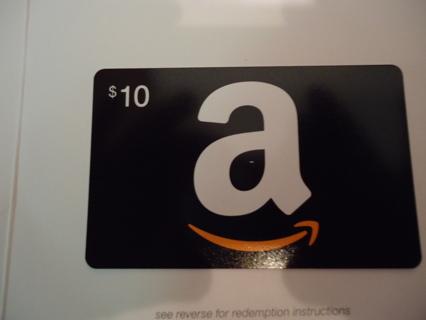 *** AMAZON GIFT CARD $10.00 ***