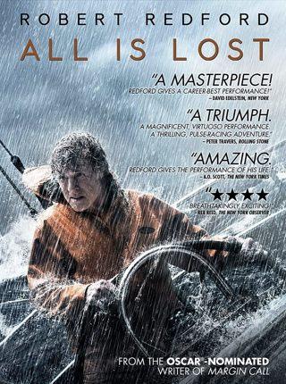 """""""ALL IS LOST"""" Robert Redford   n/c"""