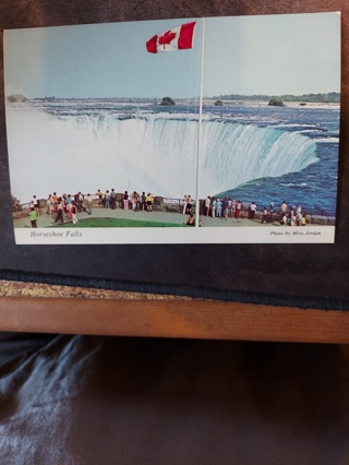 Horseshoe Falls Postcard