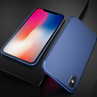 Luxury Slim Soft Silicone Back Armor Case Cover for iPhone XS Max/XR/XS 8 7 Plus