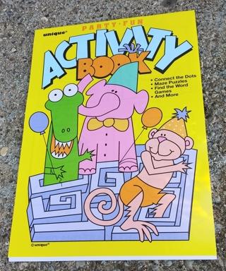 MEDIUM ACTIVITY BOOK