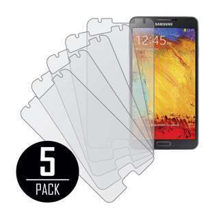 NEW 5 PACK OF MATTE ANTI-GLARE SCREEN PROTECTORS FOR SAMSUNG GALAXY NOTE 3