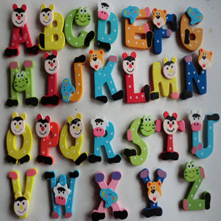Magnetic Wooden Alphabet Set