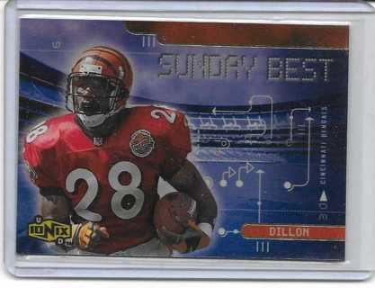 Corey Dillon 2000 Ionix Sunday Best #SB3