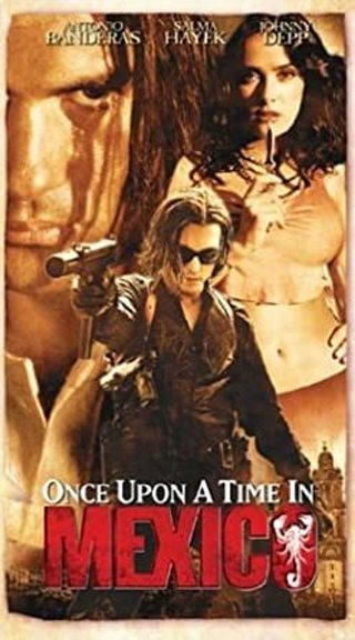 Once Upon a time in Mexico VHS