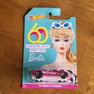 Hot Wheels - Barbie '14 Corvette Stingray (60 Year Anniversary)