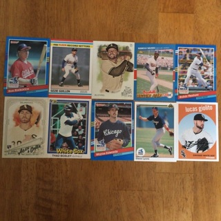 (23) Chicago White Sox Baseball Cards Lot
