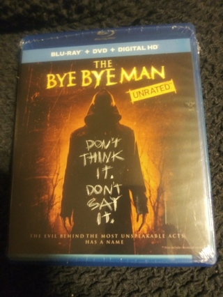 The Bye Bye Man BR+DVD+DIG HD FACT SEALED