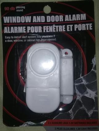 New WINDOW AND DOOR ALARM