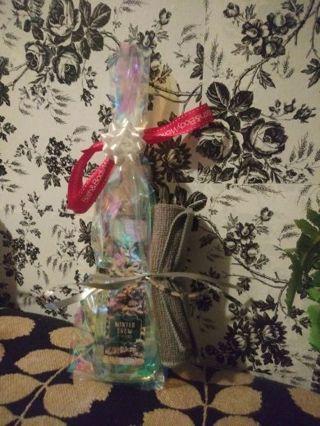 Christmas hand soap gift bag