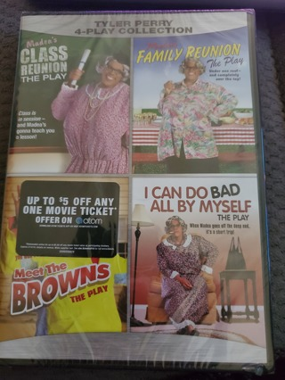 Tyler Perry 4 Play collection (Madea play)