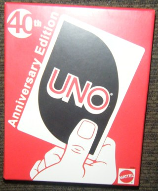 *NEW* - 40th Anniversary Edition UNO Card Game from mattel.