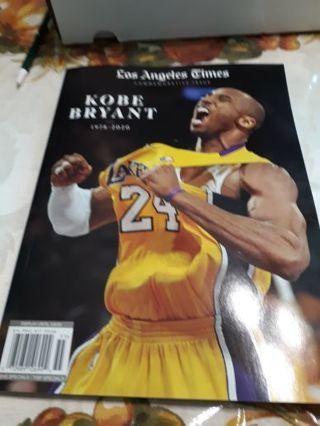 Los Angeles Times Kobe Bryant Commemorative Issue