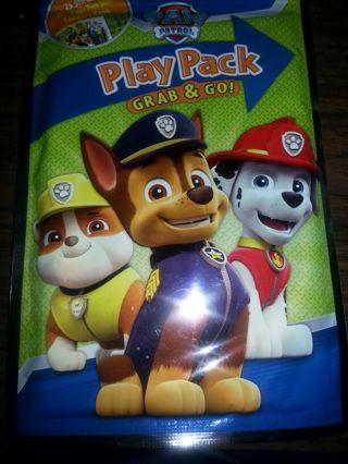 Paw patrol play pack