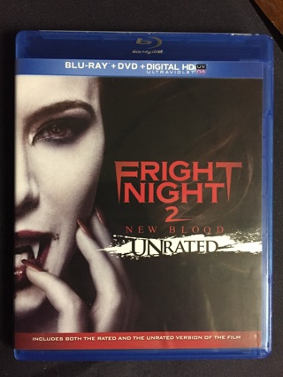 FRIGHT NIGHT 2 BLU-RAY AND DVD