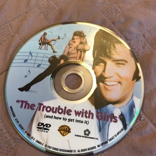 Elvis Presley Trouble With Girls Movie DVD