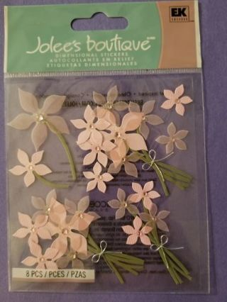 Free shipping. Brand new unopened Jolee's boutique dimensional stickers.