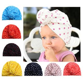 Toddler Infant Kids Baby Boy Girl Hats Turban Cotton Beanie Hat Winter Warm Cap