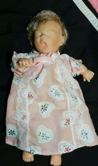 Vintage Baby Doll Gi-Go Toys Sleeping Dress Collectible Figurine