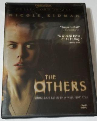"""The Others"" DVD starring Nicole Kidman"