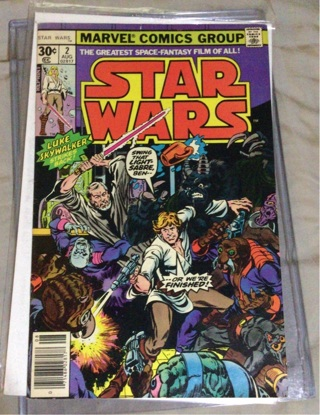 Star Wars Marvel Reprint issue #2 Nice
