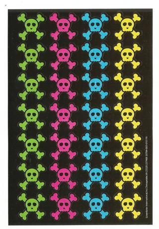 Skull & Crossbones Stickers - New