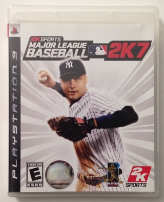 Major League Baseball 2K7 - Sony PlayStation 3 PS3 Video Game with Case, Manual, and Mint Disc!