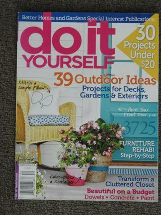 DO IT YOURSELF summer 2015 magazine