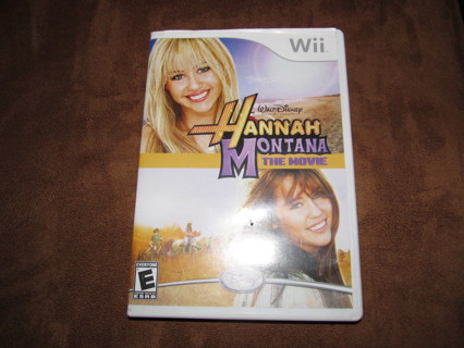 Hannah Montana Wii Video Game