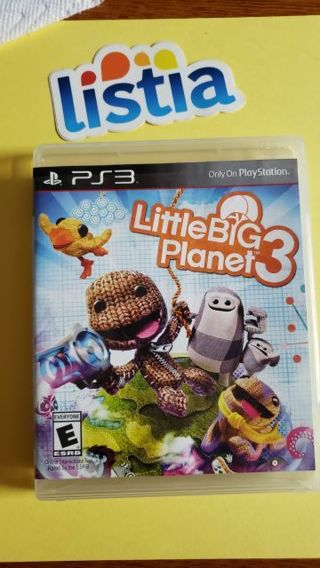 "PS3 game ""Little Big Planet 3"""