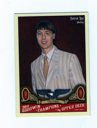 Patrick Roy Hockey Card