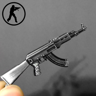 Novelty Items Counter Strike AK47 Guns Keychain Trinket Awp Rifle Sniper Key Chain Key Ring Jewelry