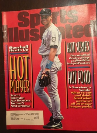 Vintage 1996 Sports Illustrated magazine