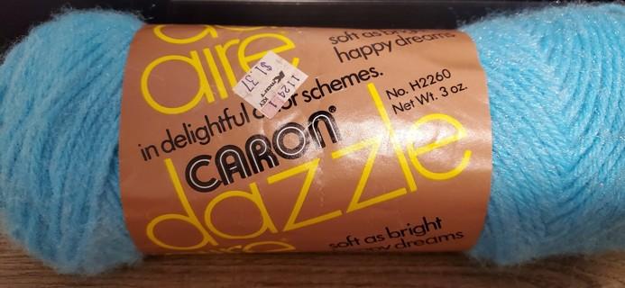 "NEW - CARON Dazzleaire Yarn - ""Iced Jade"""