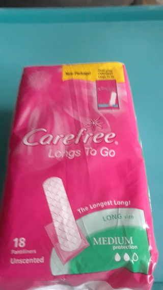 Care Free Long to Go Panty Liners