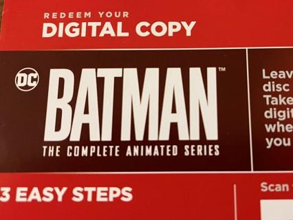 BATMAN: The Complete Animated Series - HD Digital - VUDU