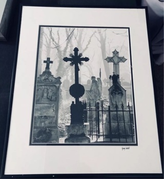 Signed Gary Siedel Crosses Framed Print