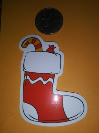 Stocking vinyl labtop sticker adorable lowest gins! No refunds! No lower good quality!