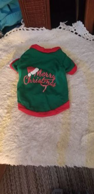 Christmas Doggie Outfit XS(NEW)