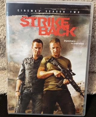 "DVD - ""Strike Back""  Season 2 - 4 DVD's"
