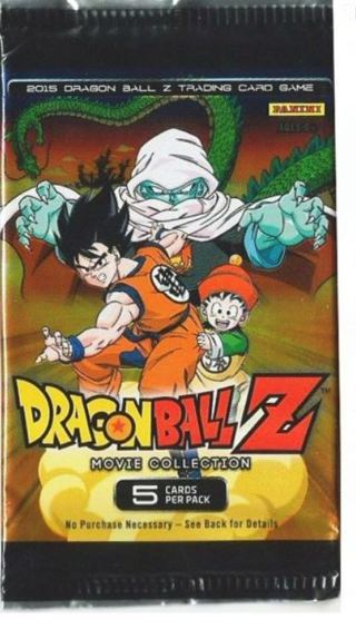 BOOSTER PACK Dragonball z cards anime goku cards dbz manga dragon ball z manga booster pack gohan