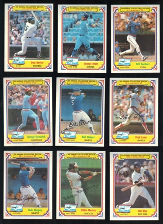 1984 Drake's Big Hitters 13 different Cards - Stars & HOFers - All Listed