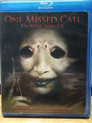 One Missed Call ~ Blu Ray