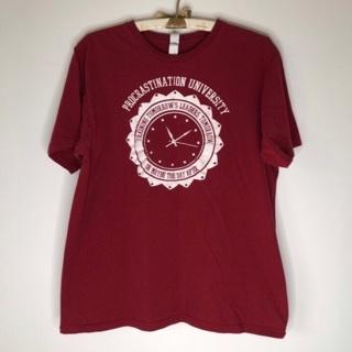 Funny T-shirt size large procrastination University