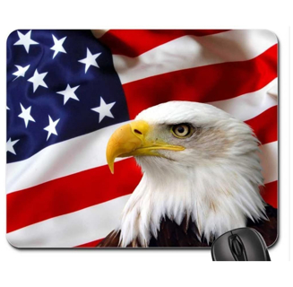4.7 out of 5 stars  595 Reviews Non-Slip Rubber Mousepad Patriotic Mouse Pad