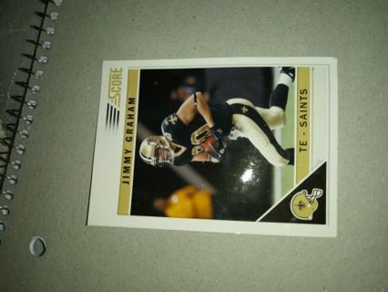 New Orleans Saints - Jimmy Graham trading card