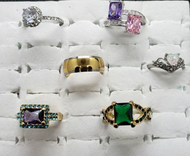 HUGE GROWING GORGEOUS RING AUCTION