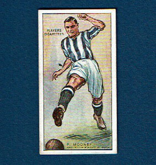 """1928 Players """"FOOTBALLERS"""" #31 Tobacco Card England"""