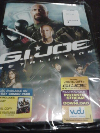 G.I. Joe retaliation ((vudu code only))